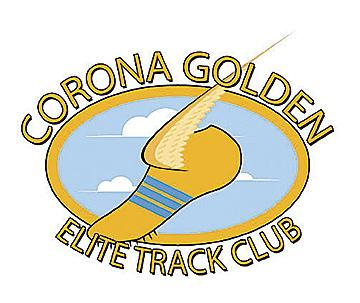 The Corona Golden ELite Track Club Logo