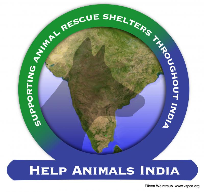 Help Animals India Logo