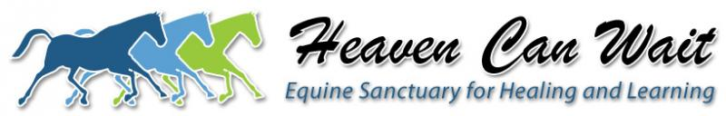 Heaven Can Wait Equine Sanctuary for Healing and Learning Logo