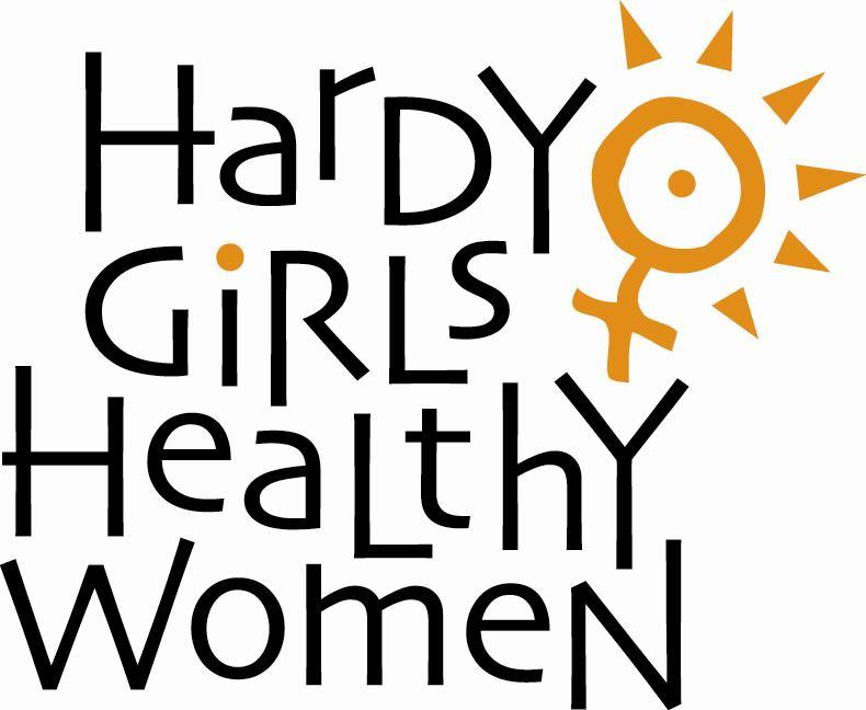 Hardy Girls Healthy Women Inc Logo