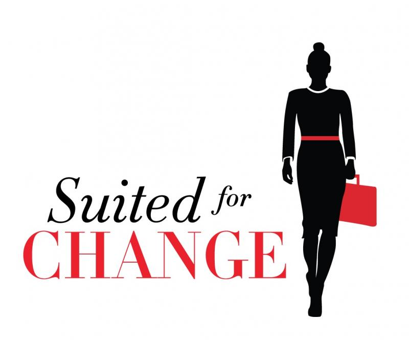 Suited for Change Logo