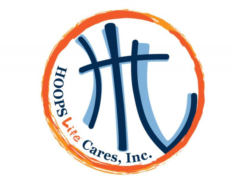Hoops Life Cares Inc Logo