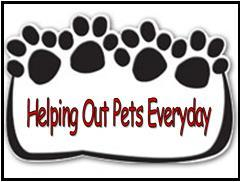 Helping Out Pets Everyday Logo