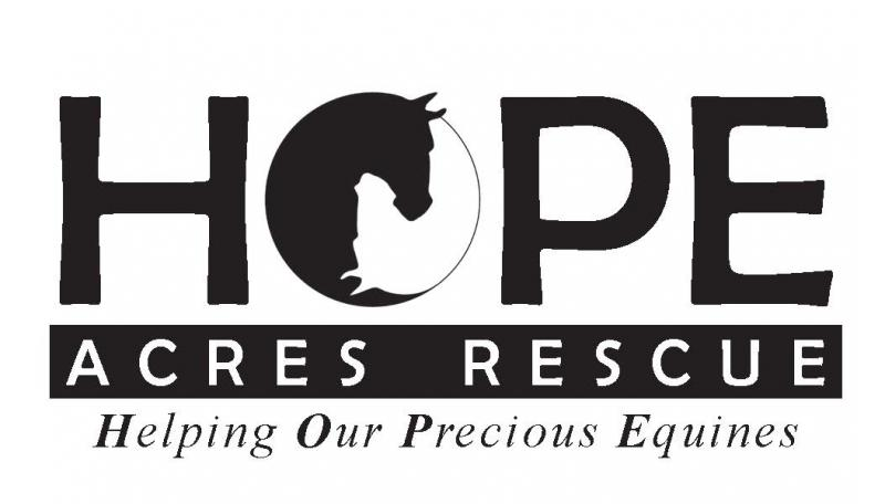 H.O.P.E. Acres Rescue Logo