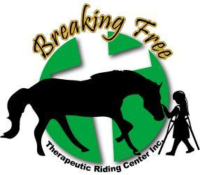 Breaking Free Therapeutic Riding Center Inc. Logo