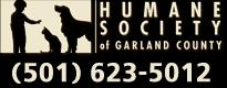 Garland County Animal Welfare Association Inc d/b/a Humane Society of Garland County Logo