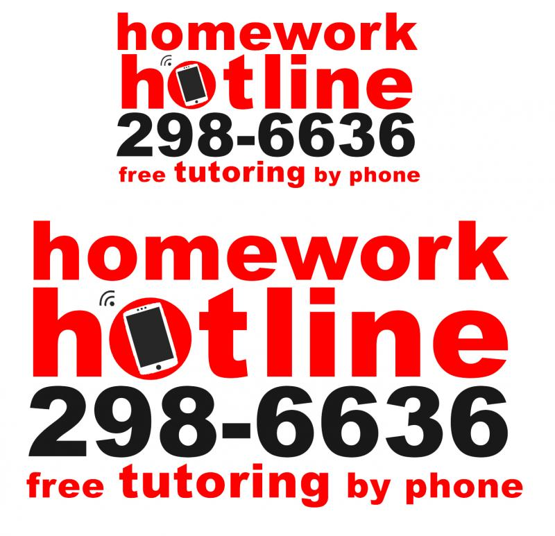 Homework hotline number