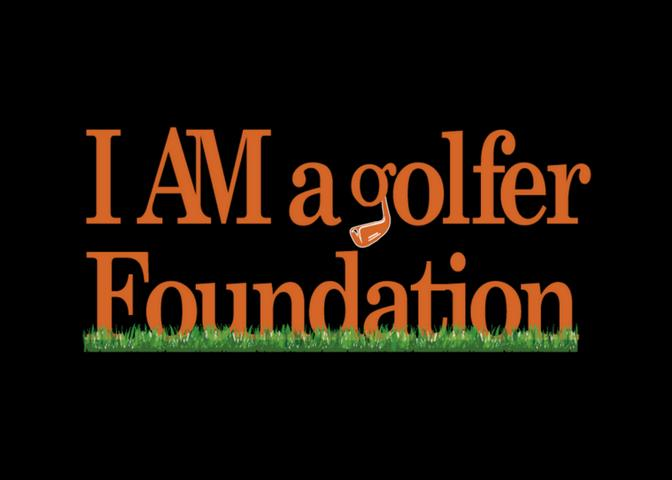 I Am A Golfer Foundation Logo