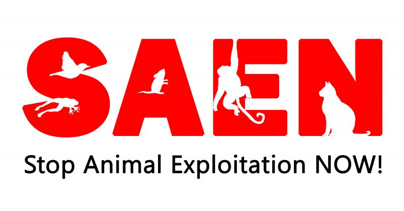 Stop Animal Exploitation NOW! Logo