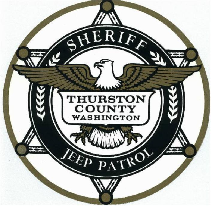 Thurston County Sheriffs Jeep Patrol Logo