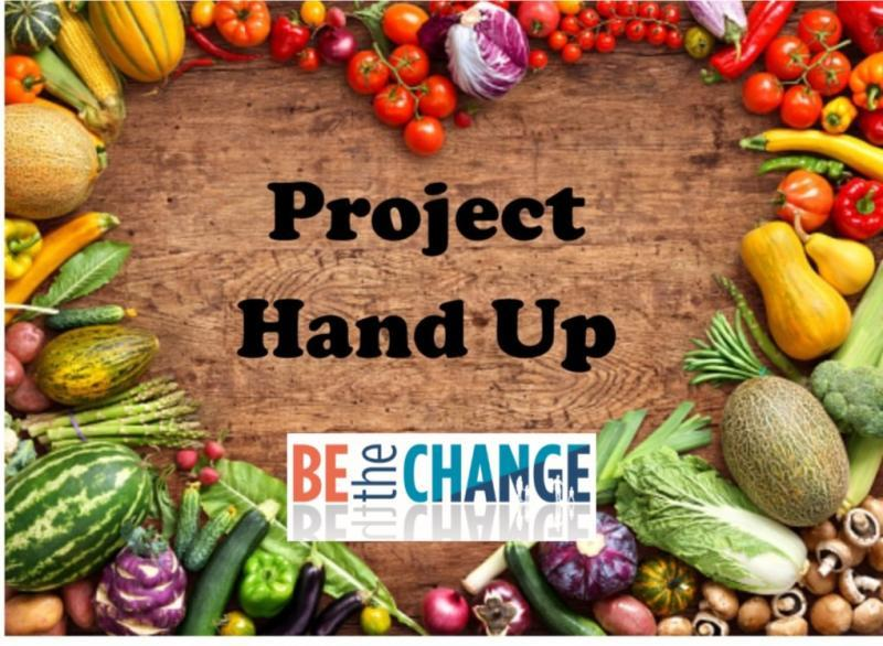 Be The Change/Project Hand Up Logo