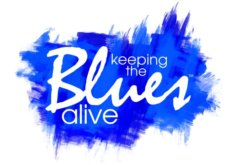 Keeping the Blues Alive Foundation Inc. Logo