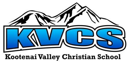 KOOTENAI VALLEY CHRISTIAN SCHOOL INC Logo