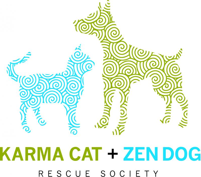 Karma Cat & Zen Dog Rescue Society Logo