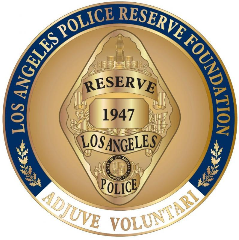 Los Angeles Police Reserve Foundation C/O Paul Favero Treasur Logo