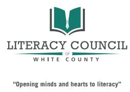 LITERACY COUNCIL OF WHITE COUNTY Logo