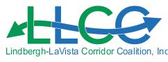 Lindbergh Lavista Corridor Coalition Incorporated Logo