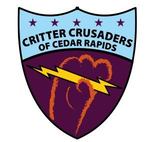 Critter Crusaders of Cedar Rapids Logo