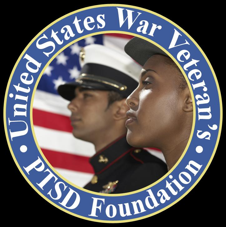 UNITED STATES WAR VETERANS PTSD FOUNDATION Logo