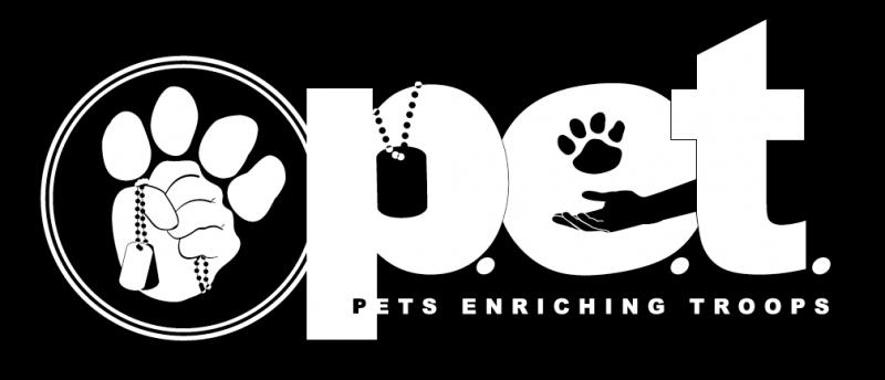 Pets Enriching Troops Association Logo