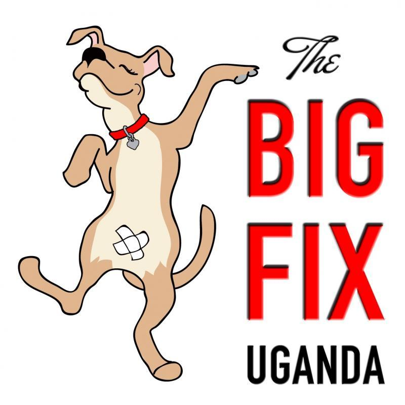 The BIG FIX Uganda, a project of Central Valley Coalition for Animals Logo