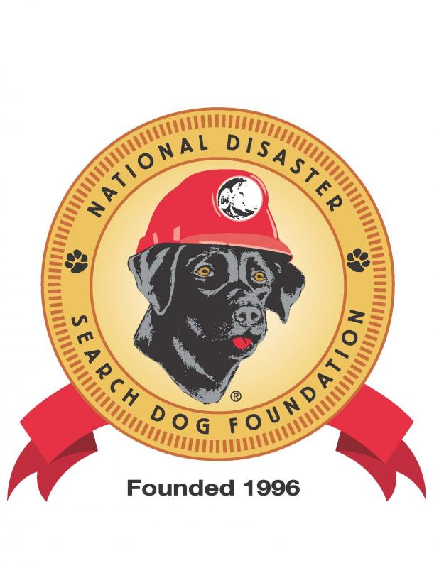 National Disaster Search Dog Foundation, Inc. Logo