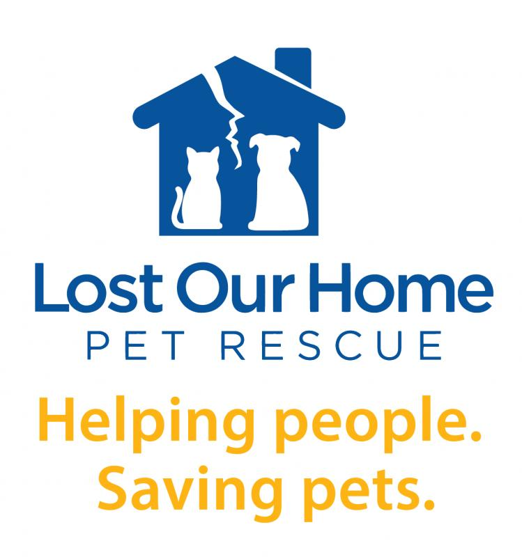 Lost Our Home Pet Foundation Inc Logo