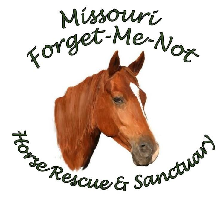 Missouri Forget-Me-Not Horse Rescue And Sanctuary Logo