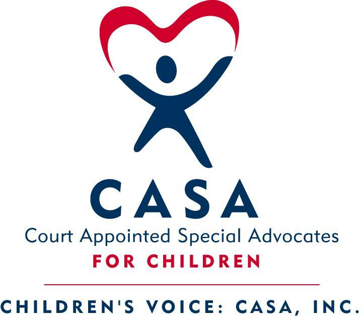 Children's Voice: CASA, Inc. Logo