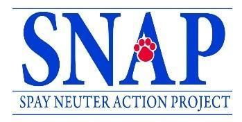 Spay-Neuter Action Project Logo
