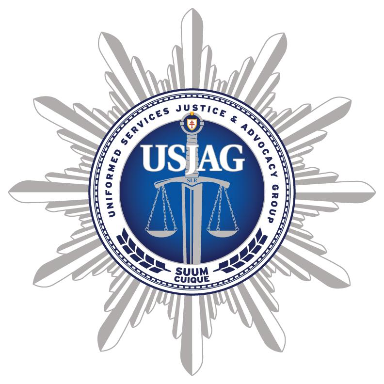 Uniformed Services Justice & Advocacy Group (USJAG) Logo