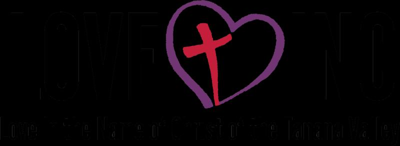 Love In The Name Of Christ Of The Tanana Valley Logo