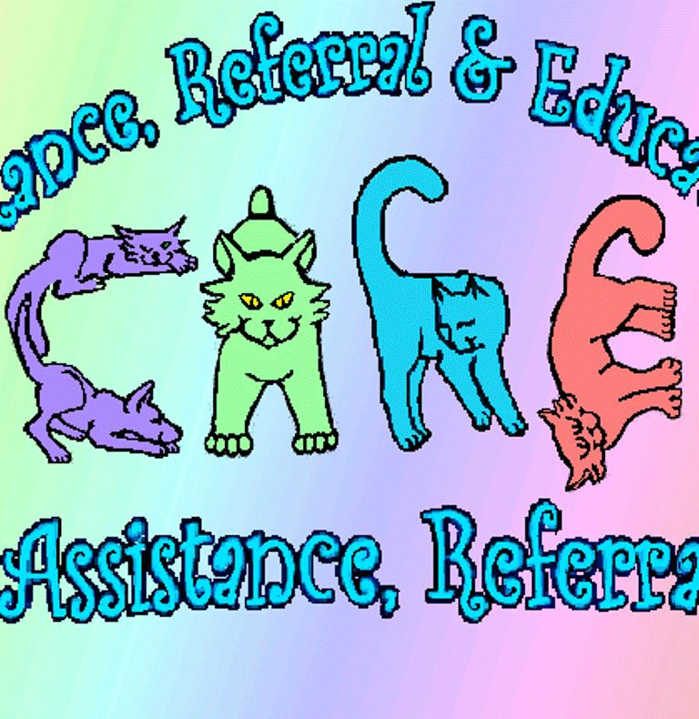 C.A.R.E. aka: Cat/Canine Assistance Referral & Education Logo