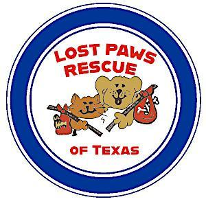 Lost Paws Rescue of Texas Logo