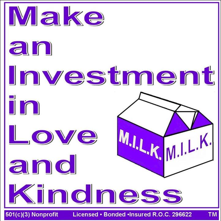 MAKE AN INVESTMENT IN LOVE AND KINDNESS Logo