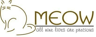 Mercer Island Eastside Orphans & Waifs (aka MEOW Cat Rescue) Logo
