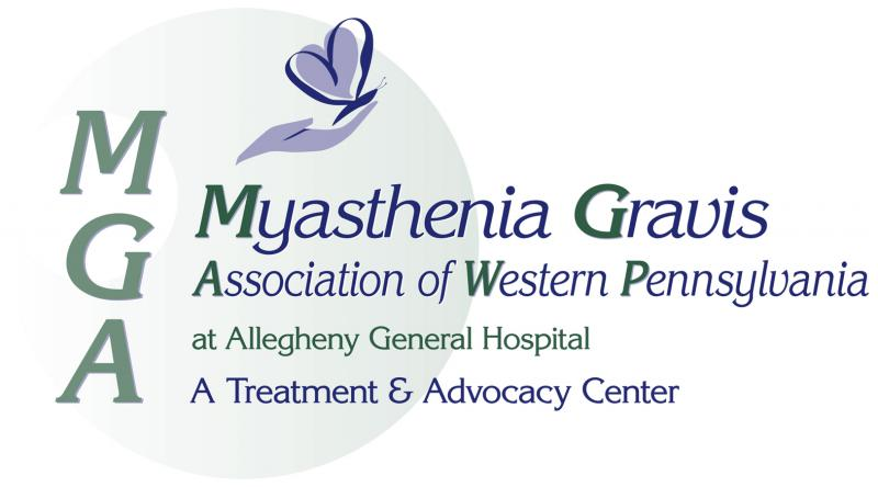 The Myasthenia Gravis Association of Western Pennsylvania (MGA) Logo
