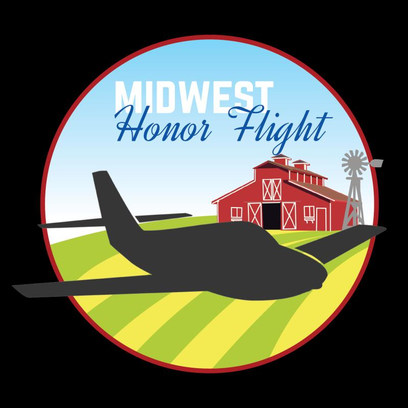Midwest Honor Flight - IA & SD Logo