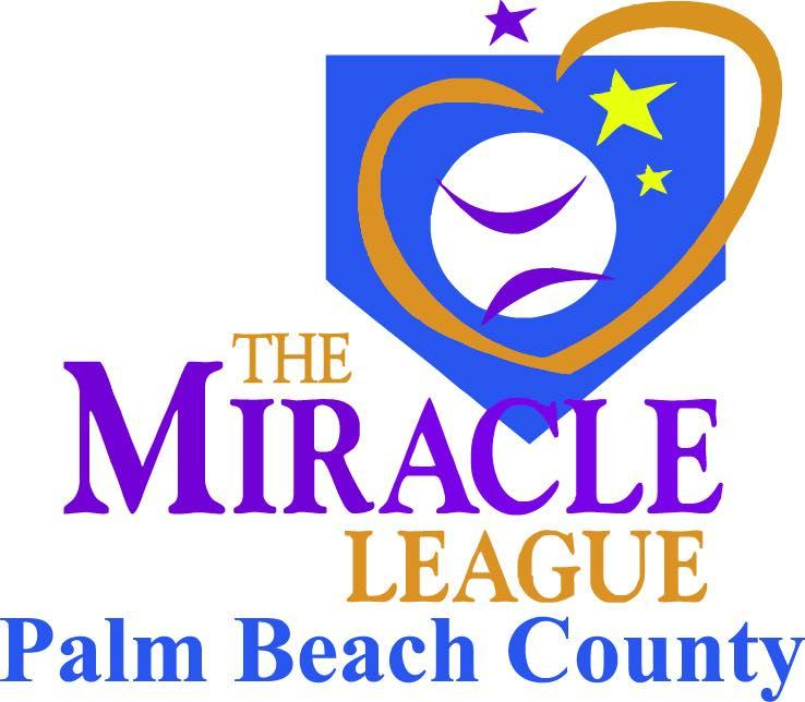 Miracle League of Palm Beach County Logo