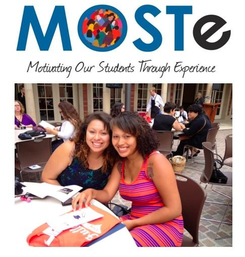MOSTE MOTIVATING OUR STUDENTS THROUGH EXPERIENCE Logo