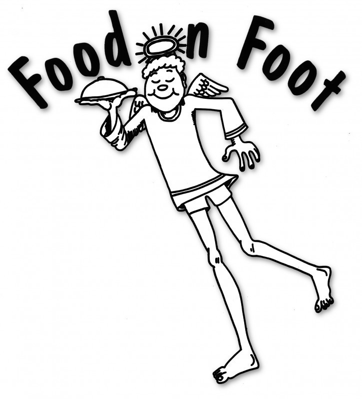 Food on Foot Logo