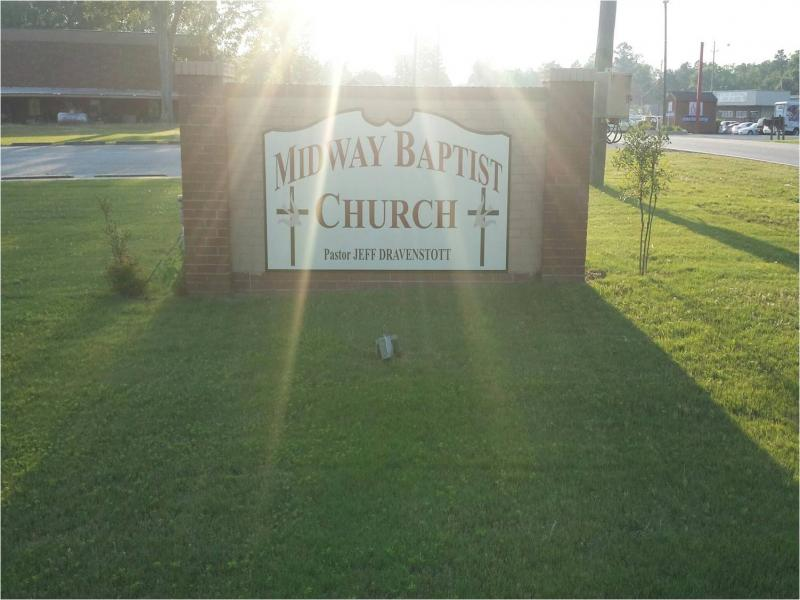 Midway Baptist Church Logo