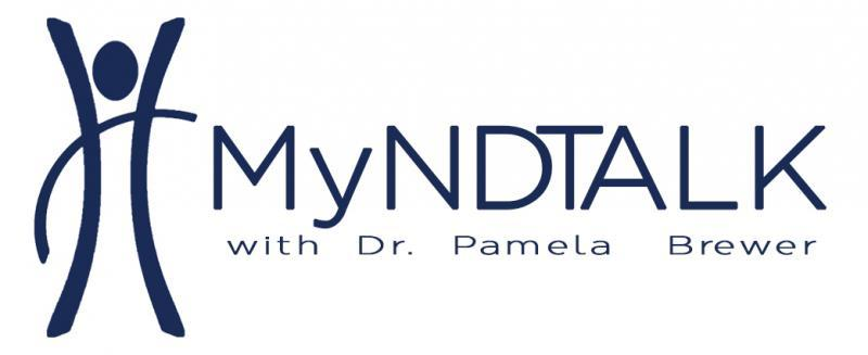 MyNDTALK WITH DR PAMELA BREWER Logo