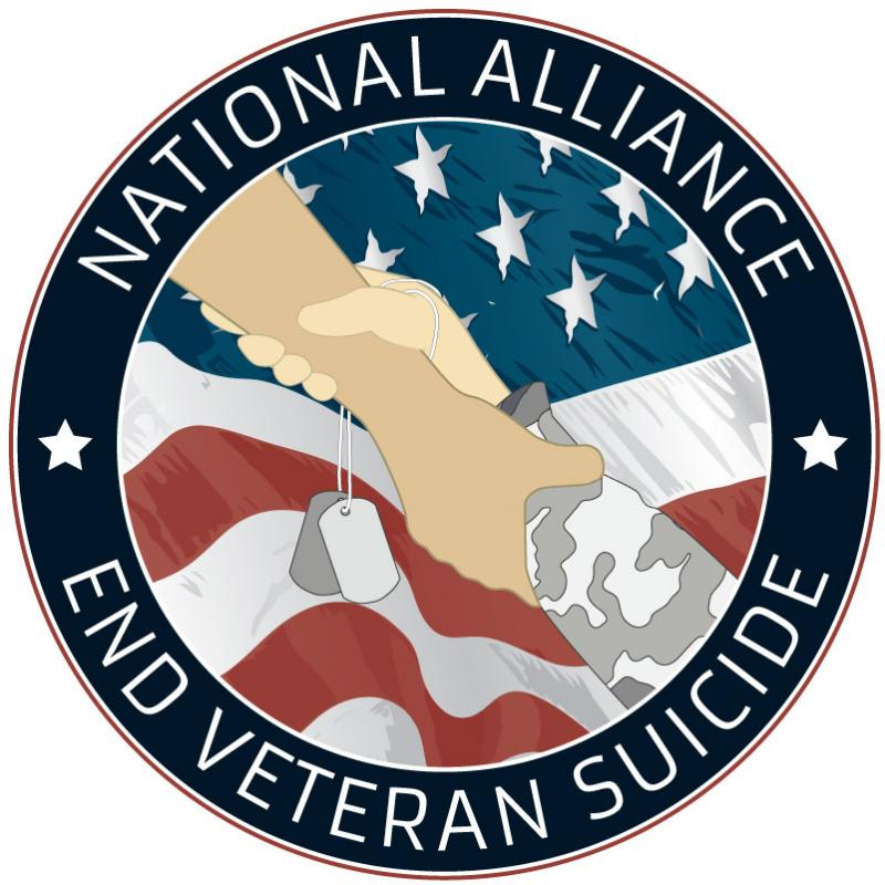 NATIONAL ALLIANCE TO END VETERAN SUICIDE Logo