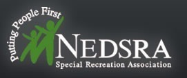 NORTHNortheast Dupage Special Recreation Association (NEDSRA) Logo