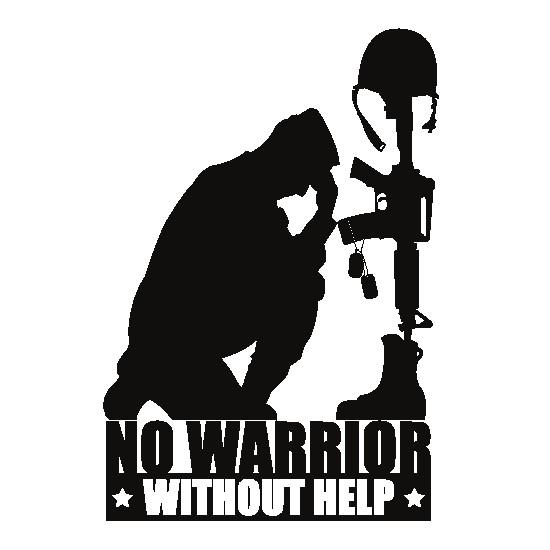No Warrior without Help Logo