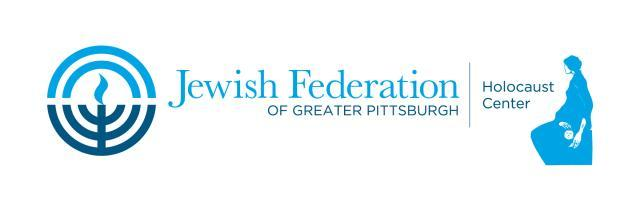 Holocaust Center of the Jewish Federation of Greater Pittsburgh Logo
