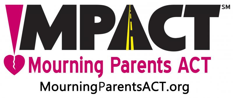 MOURNING PARENTS ACT, INC. -- !MPACT Logo