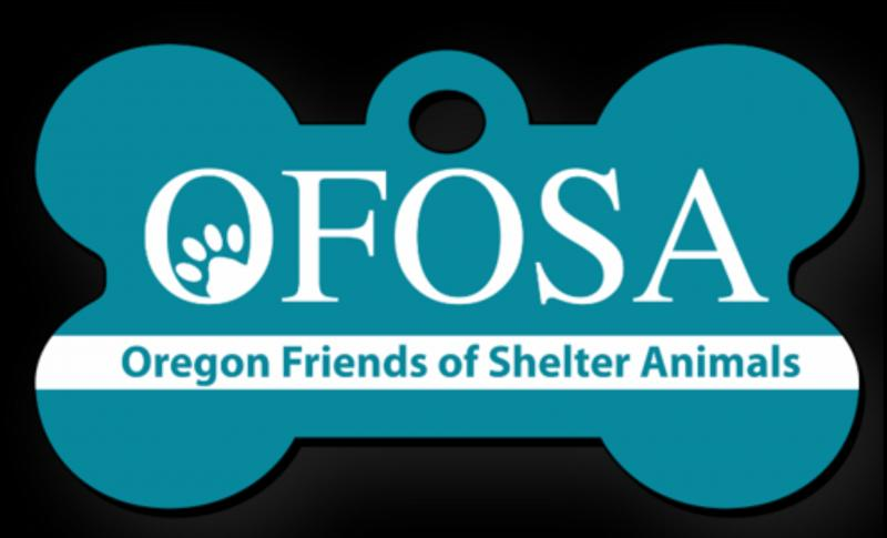 Oregon Friends of Shelter Animals Logo