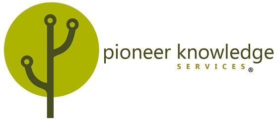Pioneer Knowledge Services Logo
